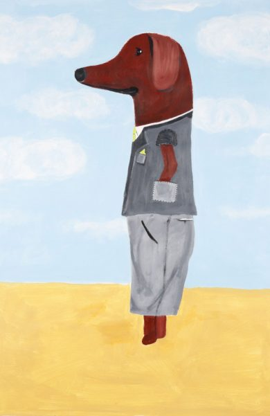 he-dressed-up-for-mary-35w-x-48h-acrylic-on-paper-jonathan-parker